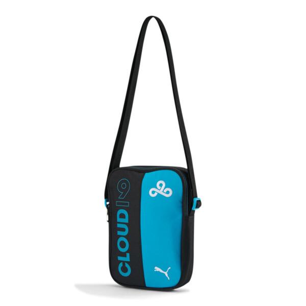 Puma X Cloud9 Portable Bag In Black/Hawaiian Ocean