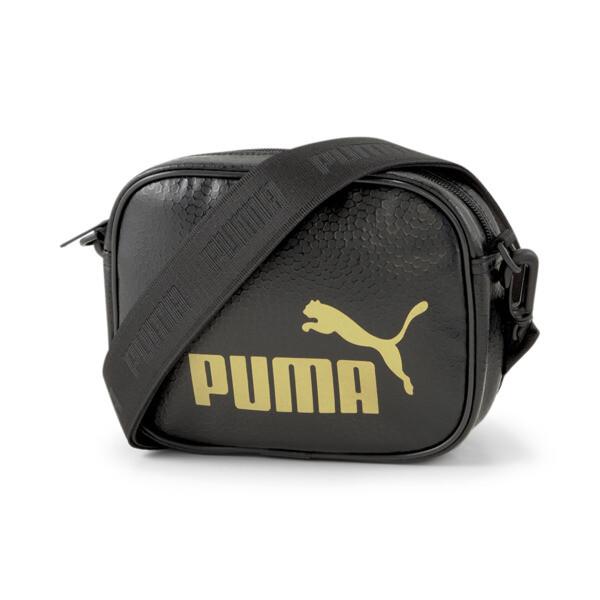 puma up cross body women's bag in black