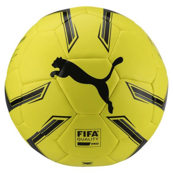 ELITE 1.2 FUSION Pro Soccer Ball, Fluo Yellow-Black-White, large