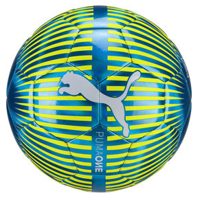 Thumbnail 1 of ONE Chrome Football, Blue-White-Yellow, medium