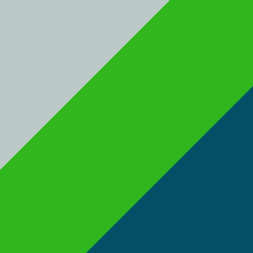 GreenGecko-Deep Lagoon-White
