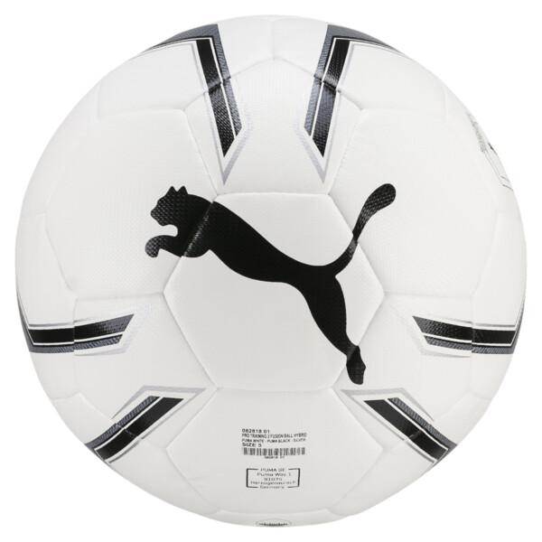 プーマPTRG 2 ハイブリッド サッカーボール J, Puma White-Puma Black-Silver, large-JPN