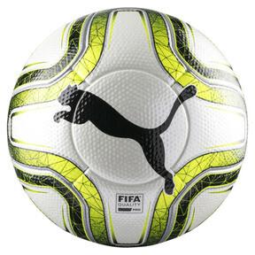 Thumbnail 1 of FINAL 1 Statement FIFA Pro Football, White-Lemon Tonic-Black, medium