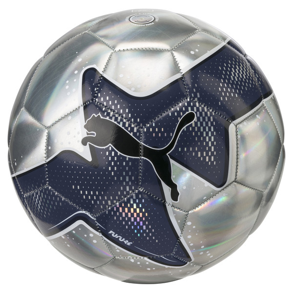 FUTURE Pulse ball, Silver-Peacoat-Puma Black, large