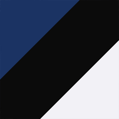 Sodalite Blue-Silver-Black