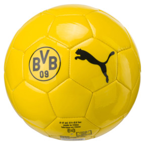 Thumbnail 1 of BVB Kids' Graphic Ball, Cyber Yellow, medium