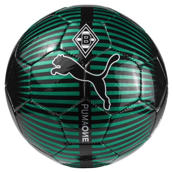 Minibalón cromado Borussia Mönchengladbach PUMA ONE, Power Green-Puma Black, grande