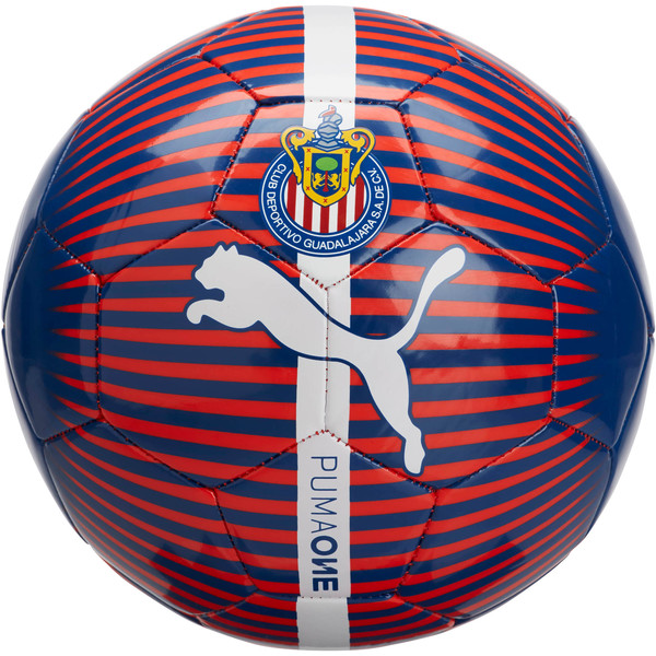 Chivas Puma ONE ball, New Navy-Puma Red-White, large