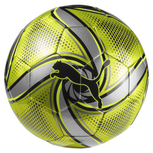 FUTURE Flare Ball, Fluo Yellow-Black-Silver, large