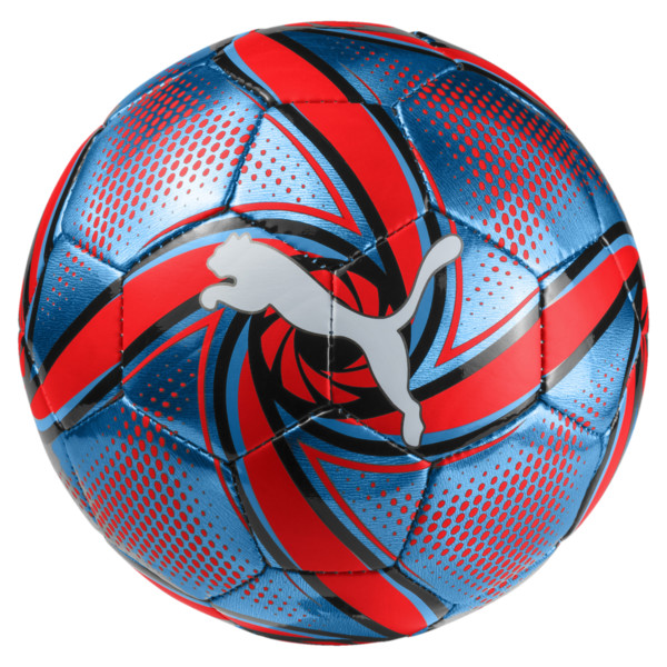 FUTURE Flare mini ball, Bleu Azur-Red Blast-Black, large