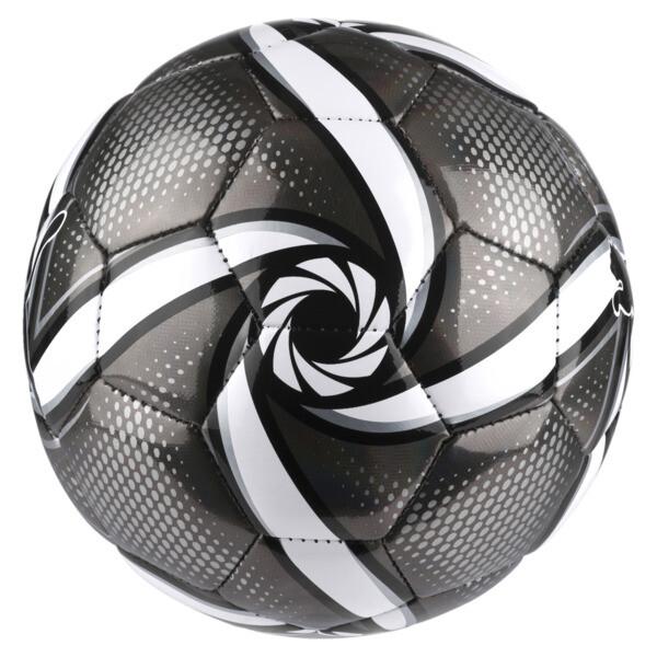 FUTURE Flare mini ball, Puma Black-Puma White-Silver, large