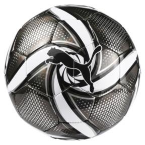 Thumbnail 1 of FUTURE Flare mini ball, Puma Black-Puma White-Silver, medium
