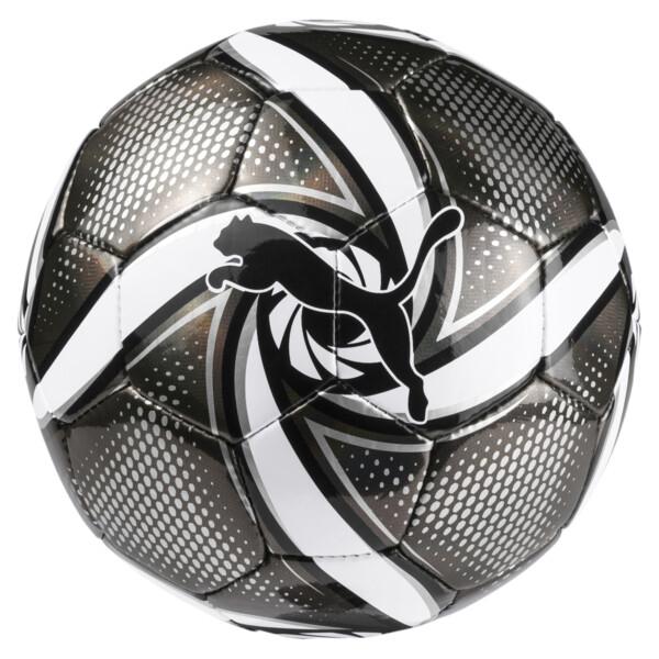 Mini pelota FUTURE Flare, Puma Black-Puma White-Silver, grande
