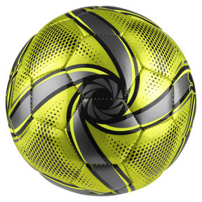 Thumbnail 2 of FUTURE Flare mini ball, Fluo Yellow-Black-Silver, medium