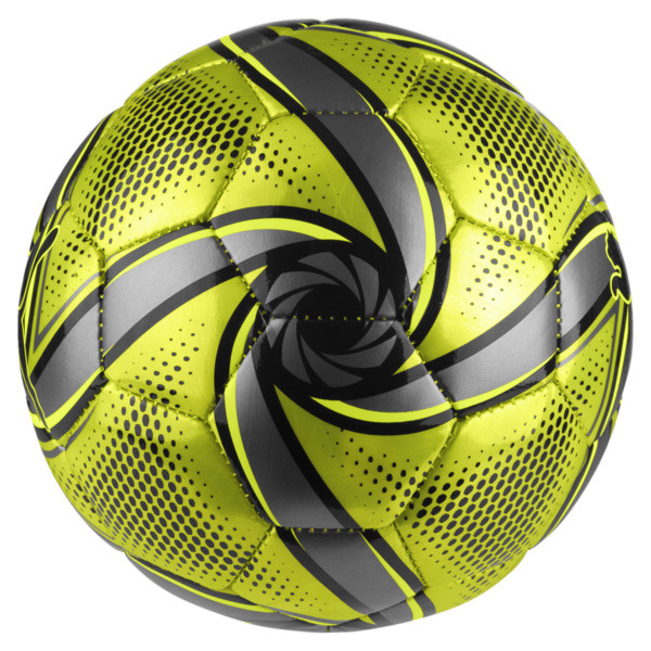 FUTURE Flare mini ball, Fluo Yellow-Black-Silver, large