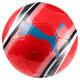 Ballon de foot pour l'entraînement PUMA Big Cat 3, Red Blast-Black-White, small
