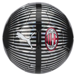 Thumbnail 1 of AC Milan PUMA ONE Chrome Ball, Puma Silver-Puma Black, medium