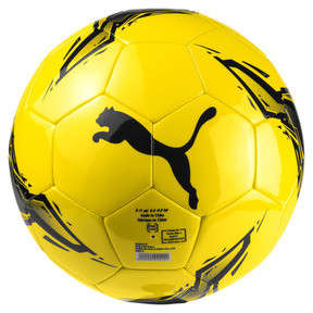 Thumbnail 1 of BVB Fan Ball, Puma Black-Cyber Yellow, medium