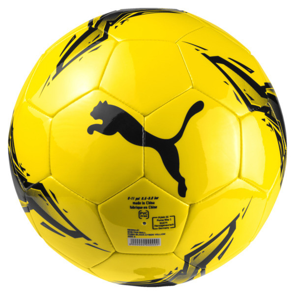 BVB Fan Ball, Puma Black-Cyber Yellow, large