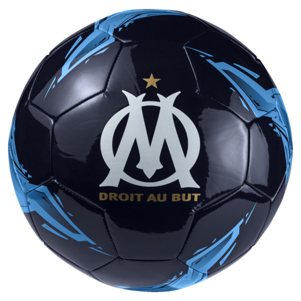Olympique de Marseille Fan Ball, Peacoat-Bleu Azur, large