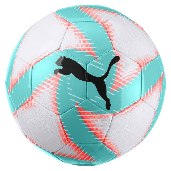 3da0d65a4 FUTURE Flare Soccer Ball, White-Turquoise-Nrgy Red-Blk, large. ‹ ›