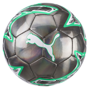 Thumbnail 2 of Borussia Mönchengladbach PUMA ONE Laser Mini Ball, Puma Black-Bright Green, medium