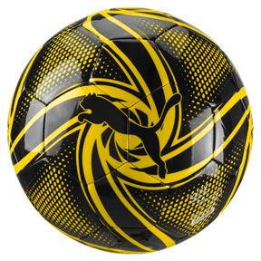 Thumbnail 1 of BVB Future Flare Fan Ball, Puma Black-Cyber Yellow, medium