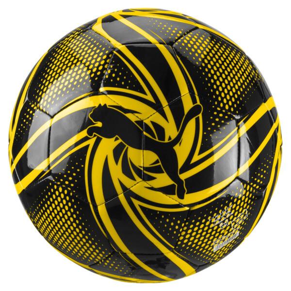 BVB Future Flare Fan Ball, Puma Black-Cyber Yellow, large