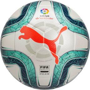 Thumbnail 1 of La Liga 1 FIFA Quality Ball, White-Green Glimmer-Nrgy Red, medium