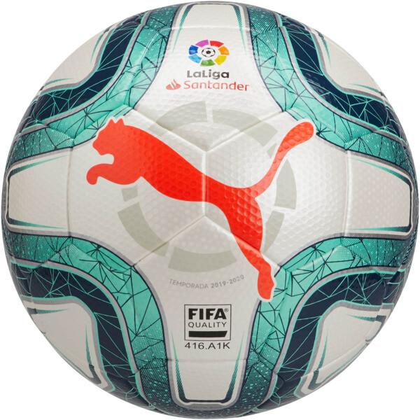 La Liga 1 FIFA Quality Ball, White-Green Glimmer-Nrgy Red, large