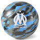 OM Iconic Big Cat Training Football, Puma Black-AZURE BLUE, small