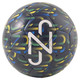 Mini ballon graphique Neymar, enfant, Bleu caban-Dand-Bonbon haricot-Blanc, petit