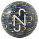 Ballon graphique Neymar, enfant, Bleu caban-Dand-Bonbon haricot-Blanc, petit