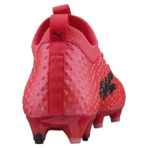 Thumbnail 4 of evoPOWER Vigor 3D 1 FG Men's Firm Ground Soccer Cleats, Coral-Black-Toreador, medium