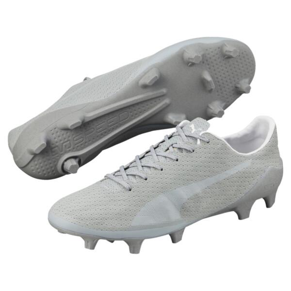 c7b9edd9c Botas de fútbol de hombre evoSPEED 17 SL Optical FG, quarry-white-black. ‹ ›