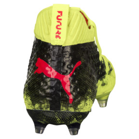 Thumbnail 4 of FUTURE 18.1 NETFIT FG/AG JR Soccer Cleats, Yellow-Red-Black, medium
