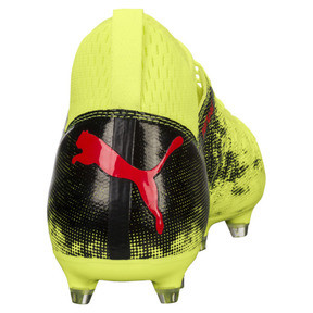 Thumbnail 4 of FUTURE 18.3 FG/AG Men's Soccer Cleats, Yellow-Red-Black, medium