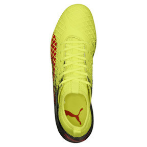Thumbnail 5 of FUTURE 18.3 FG/AG Men's Soccer Cleats, Yellow-Red-Black, medium