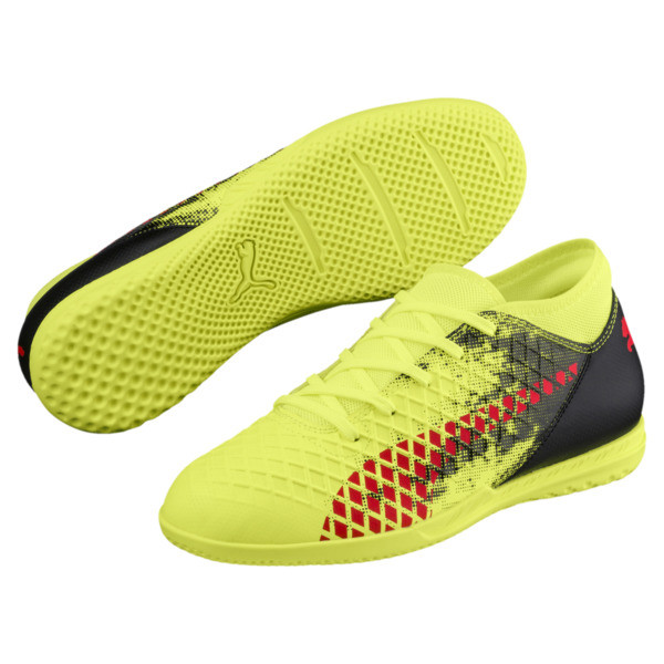 FUTURE 18.4 IT JR Soccer Cleats, Yellow-Red-Black, large