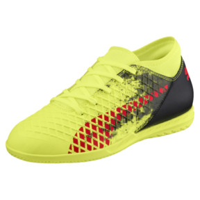 Thumbnail 1 of FUTURE 18.4 IT JR Soccer Cleats, Yellow-Red-Black, medium