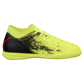 Thumbnail 3 of FUTURE 18.4 IT JR Soccer Cleats, Yellow-Red-Black, medium