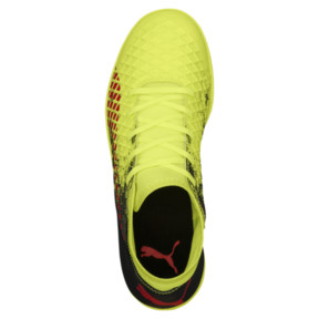 Thumbnail 5 of FUTURE 18.4 IT JR Soccer Cleats, Yellow-Red-Black, medium