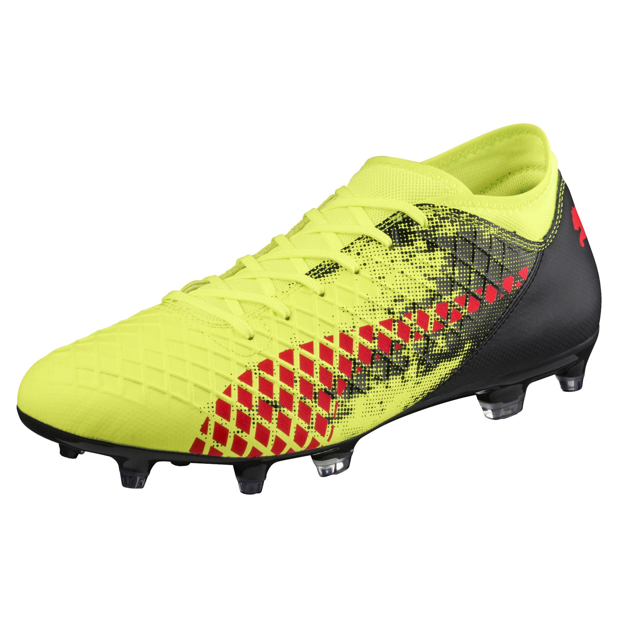 Image Puma Men's FUTURE 18.4 FG/AGFootball Boots #1