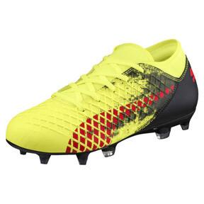 Thumbnail 1 of FUTURE 18.4 FG/AG JR Soccer Cleats, Yellow-Red-Black, medium