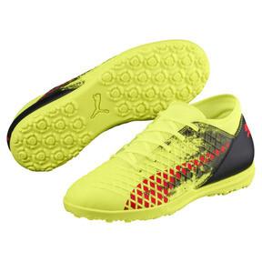 Thumbnail 2 of FUTURE 18.4 TT JR Soccer Cleats, Yellow-Red-Black, medium