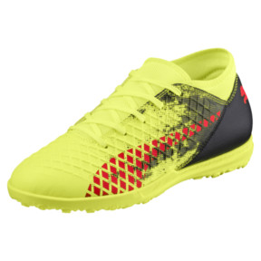 Thumbnail 1 of FUTURE 18.4 TT JR Soccer Cleats, Yellow-Red-Black, medium