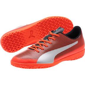Thumbnail 2 of PUMA Spirit IT Men's Soccer Shoes, Red-Silver-Black, medium