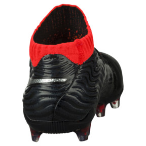 Thumbnail 4 of ONE 18.1 FG JR Soccer Cleats, Black-Silver-Red, medium