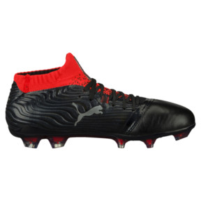Thumbnail 3 of ONE 18.1 FG JR Soccer Cleats, Black-Silver-Red, medium