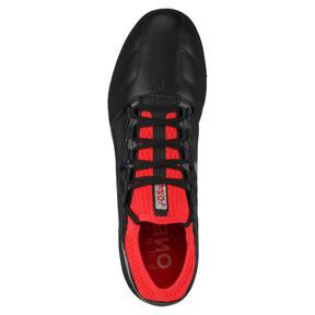 Thumbnail 5 of ONE 18.3 FG Men's Soccer Cleats, Black-Silver-Red, medium